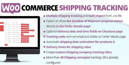 CodeCanyon - WooCommerce Shipping Tracking v21.5 - 11363158 - NULLED