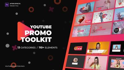Modern Youtube Promo Toolkit V.2 - Project for After Effects (VideoHive)