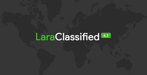 CodeCanyon - LaraClassified v6.1 - Classified Ads Web Application - 16458425 - NULLED