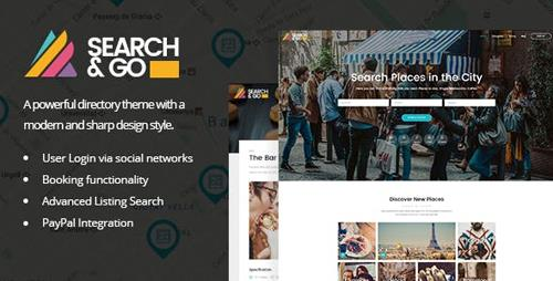 ThemeForest - Search & Go v2.3 - Smart Directory Theme - 15365040
