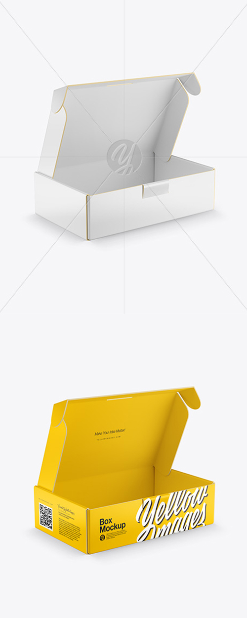 Glossy Paper Box Mockup 43133 TIF