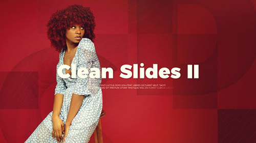 Upbeat Clean Slides II - Project for After Effects (Videohive)