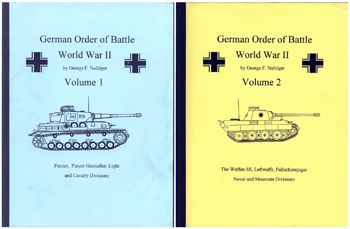 German Order of Battle Vol I-III - Nafziger