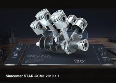 Siemens Star CCM+ 2019.1.1 (build 14.02.012 single precision)