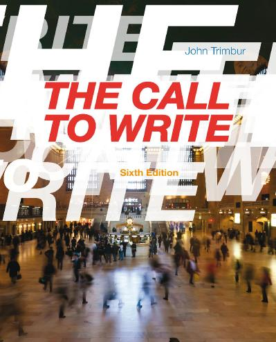 The Call to Write, 6 edition