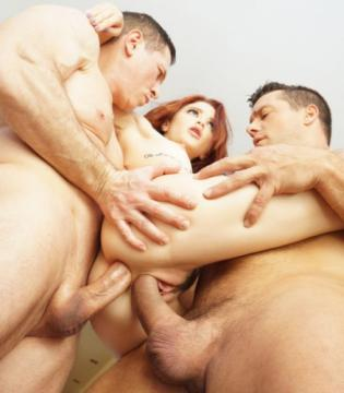 Lola Fae - Tiny Spinner Lola Fae Double Stuffed By Two Big Cocks (2019) 1080p