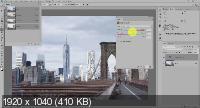 Выборочная коррекция цвета и тона в Photoshop. Видеокурс (2018)