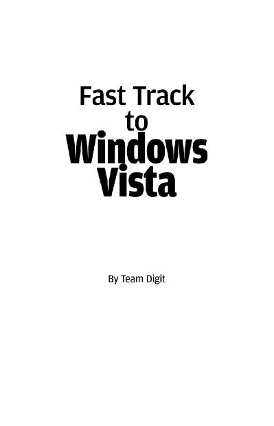 Beginners Guide to Windows Vista