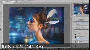 Создание коллажа в Photoshop. Атмосферный коллаж (2019) WEBRip