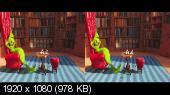 Гринч 3D / The Grinch 3D Горизонтальная анаморфная стереопара