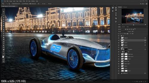 Фотоманипуляция Машина будущего (2019)