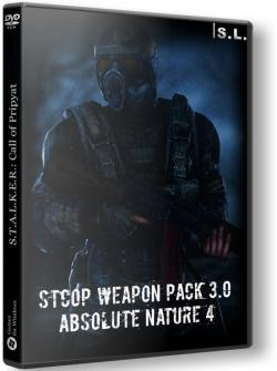 S.T.A.L.K.E.R.: Call of Pripyat. Weapon Pack 3.0 + Absolute Nature 4 (2019, PC)