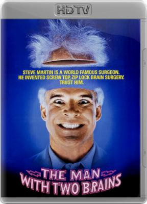 ������� � ������� ������ (����� ���������) / The Man with Two Brains (1983) HDTVRip 720p