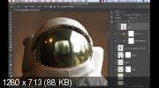 Фотоманипуляция. Потерянный астронавт (2019)