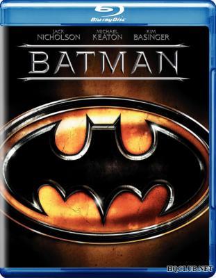 Бэтмен / Batman (1989) BDRemux 1080p