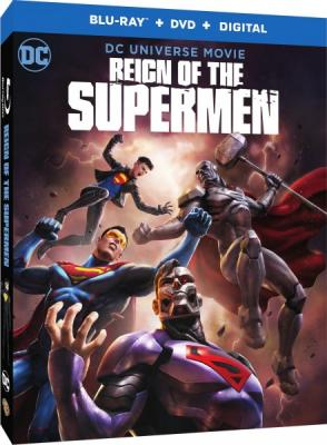 Господство Суперменов / Reign of the Supermen (2019) BDRemux 1080p | HDRezka Studio, AniStar
