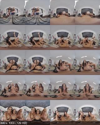NaughtyAmericaVR: Diamond Kitty, Nina Elle, Tia Cyrus (ClassRoom 2 / 15.02.2019) [Oculus Rift, Vive | SideBySide]