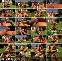 FullyClothedPissing/Tainster - Isabella Chrystin, Barra Brass - Golden Shower Lesbo Lickers (FullHD/1080p/1.24 GB)