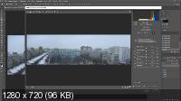 Как сделать панораму в Photoshop (2019) WEBRip