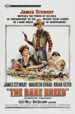 Редкая порода / The Rare Breed (1966) BDRip 720p