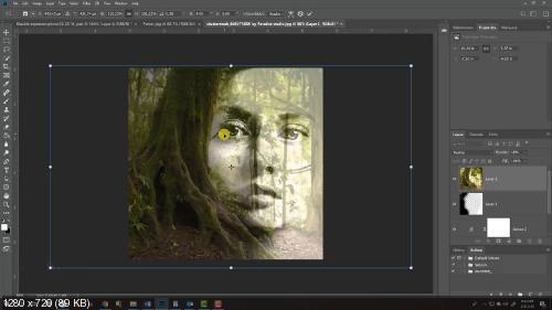 Как создать графический портрет с двойной экспозицией (2019)