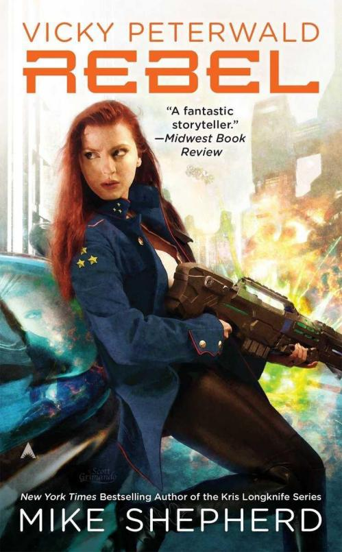 Rebel (Vicky Peterwald, Book 3) by Mike Shepherd