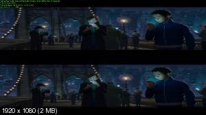 Человек-паук: Через вселенные 3D / Spider-Man: Into the Spider-Verse 3D  (Лицензия by Ash61) Вертикальная анаморфная стереопара