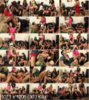 Tainster - Barra Brass, Adel Sunshine, Leila Smith, Gabrielle Gucci, Bella Baby, Bailey, Nicole Vice - Russian Piss Roulette Party Part 2 (HD/720p/731 MB)