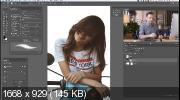 Выделение волос в сложных ситуациях в Photoshop (2019)