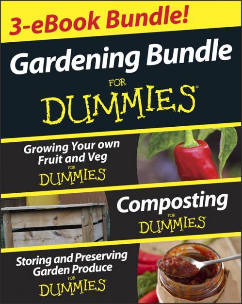 Gardening For Dummies Three e book Bundle