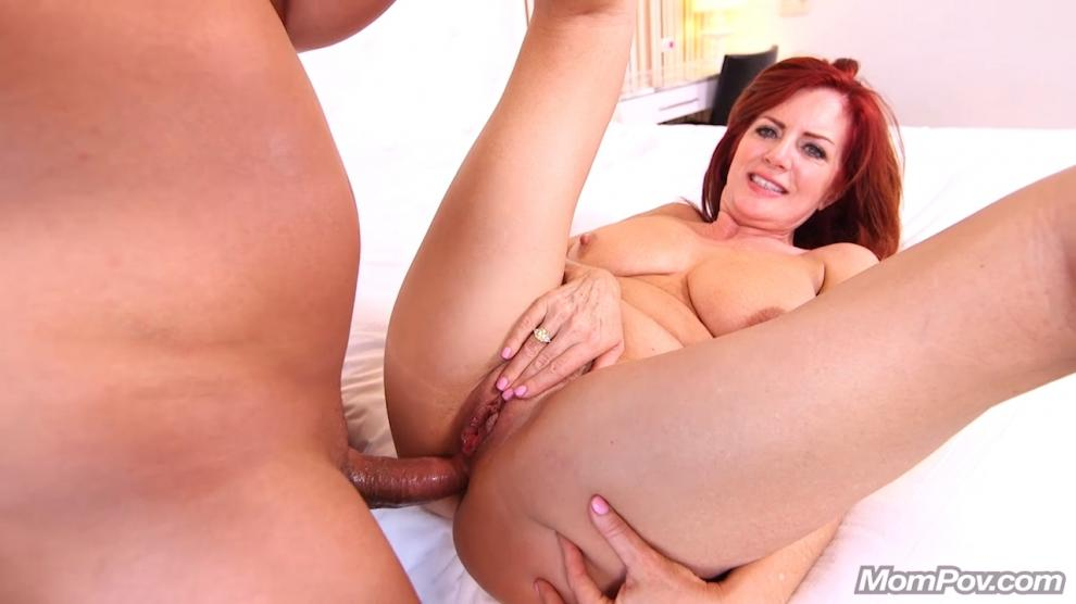 [MomPov.com] Andi - Epic natural redhead MILF cougar (27.03.2019) [Anal, All Sex, Blowjobs, POV, MILF, 720p]