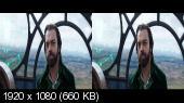 Хроники хищных городов 3D / Mortal Engines 3D Горизонтальная анаморфная стереопара