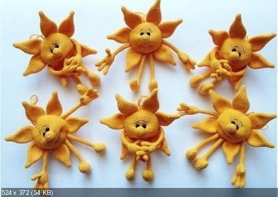 Вяжем солнечную игрушку! 4c6f4e87facee7108dc76ce6cac34a1d