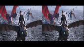 Как приручить дракона 3 3D / How to Train Your Dragon: The Hidden World 3D Горизонтальная анаморфная стереопара