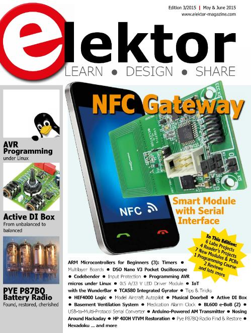Elektor USA   May June 2015