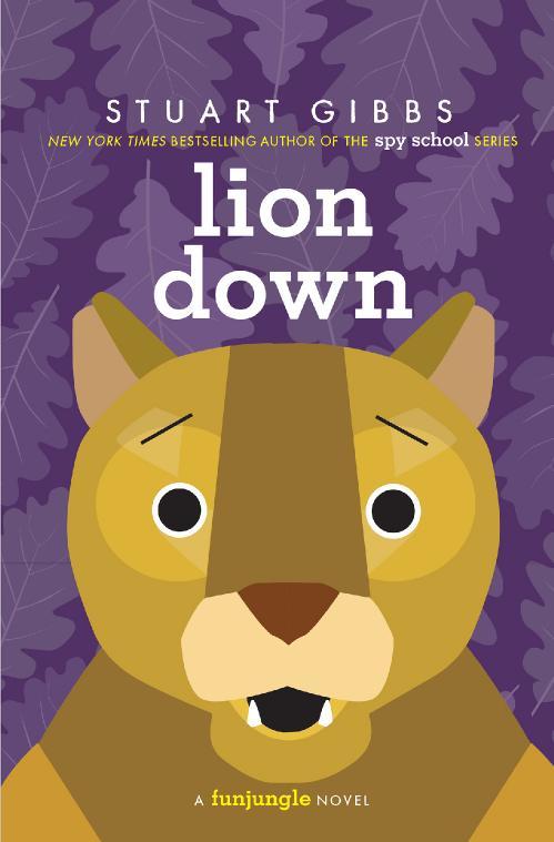 Lion Down by Stuart Gibbs