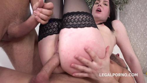 LegalPorno 2019 Elley Gets 2on1 Anal and DP With Rough Sex 720p XXX MP4-CLiP