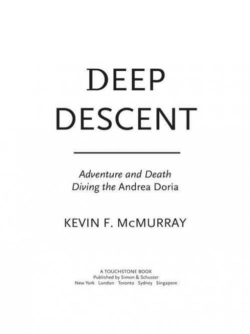 Deep Descent  Adventure and Death Diving the Andrea Doria