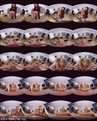 CzechVR: Francys Belle & Katrin Tequila (Naughty Book Fantasy / 161) [PlayStation VR | SideBySide]
