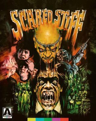 Страшный покойник / Страшная находка / Scared Stiff (1987) BDRemux 1080р