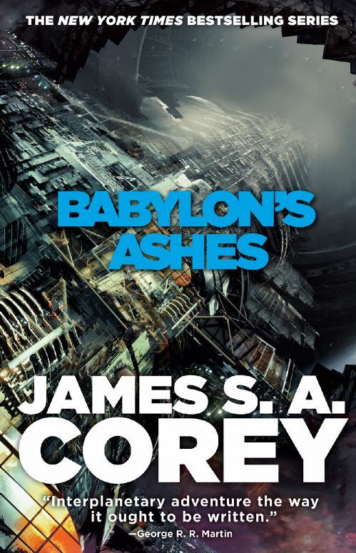 James S A  Corey's The Expanse series
