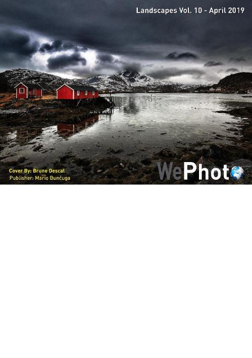 WePhoto  Landscapes - Volume 10 - April 2019