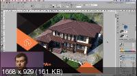 Допечатная подготовка в Adobe Indesign (2019) HDRip