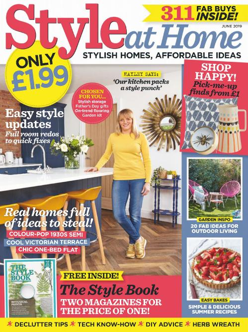 Style at Home UK - June 2019