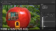 Сказочный коллаж в Photoshop. Съедобный домик (2019)