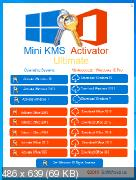 Windows and Office Mini KMS Activator Ultimate 1.5 (x86-x64) (2019) Eng