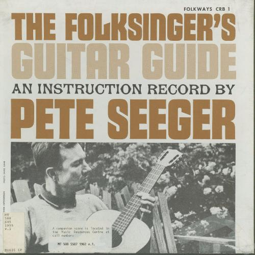 Pete Seeger - The Folksinger's Guitar Guide - Instruction Book Incl  [1961] Vinyl