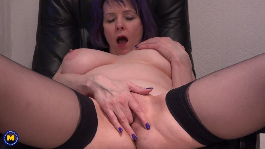 Tigger (EU) (51) - Big breasted mature Tigger sure knows how to please her wet pussy [1080p]