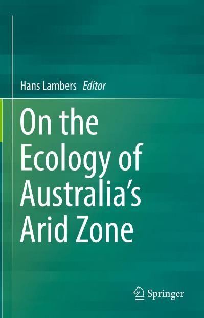 On the Ecology of Australia