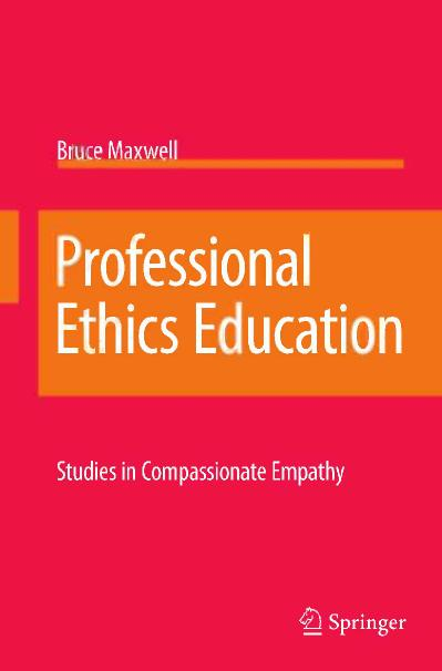 Professional Ethics Education Studies in Compassionate Empathy